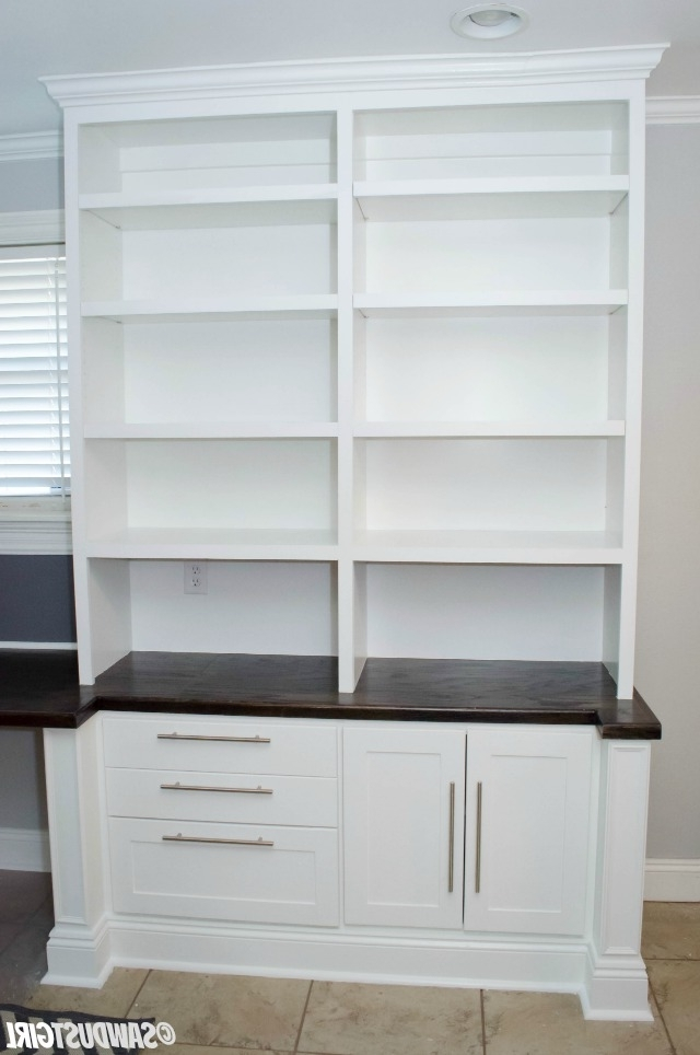 Most Current Bookcases With Cupboard Base Regarding Built In Office Cabinets (View 6 of 15)