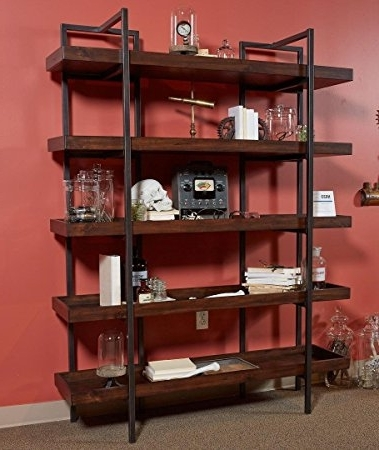 Most Current Bookcases With Regard To Amazon: Signature Designashley H633 70 Starmore Home (View 13 of 15)