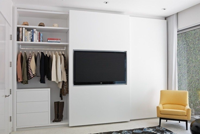 Most Current Built In Wardrobes With Tv Space Throughout Built In Wardrobes With Tv New Images Of Wardrobe Doors Without (View 6 of 15)
