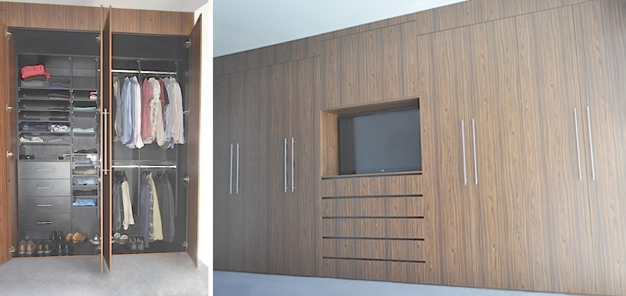 Most Current Full Wall Wardrobe Designs Regarding Wall Wardrobes (View 5 of 15)