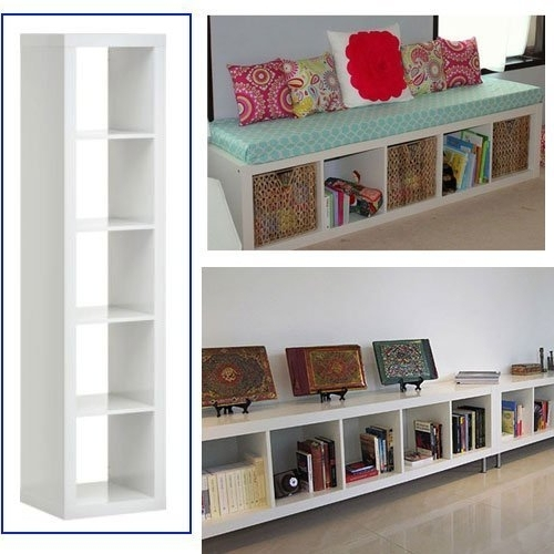 Most Current Ikea Expedit Bookcase White Multi Use  Easily Turn This Bookcase For Ikea Expedit Bookcases (View 9 of 15)
