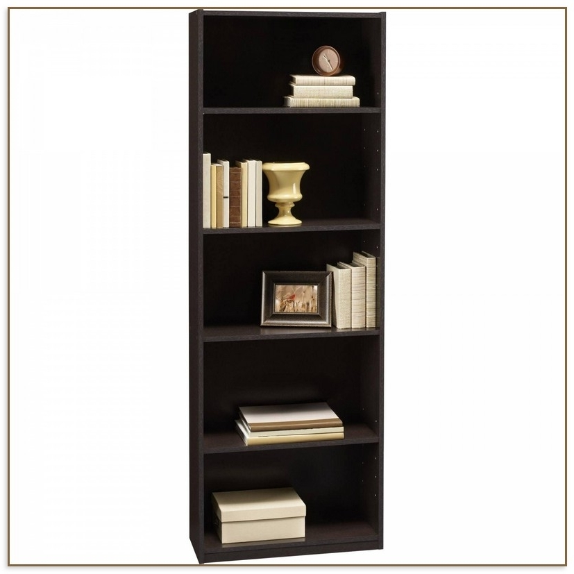 Most Current Room Essentials 5 Shelf Bookcases With Essentials 5 Shelf Bookcase (View 6 of 15)