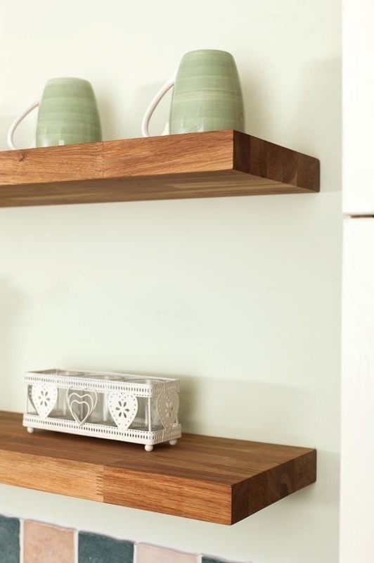 Most Current Solid Oak Shelves Throughout Real Wood Wall Shelves Extremely Creative Solid Wood Shelves Fresh (View 6 of 15)