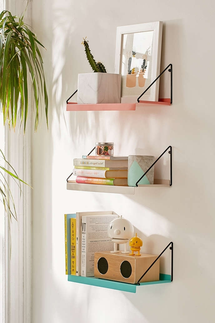 Most Current Twenty Wall Shelves That Add Style As Well As Storage To Your Home For Wall Shelves (View 7 of 15)