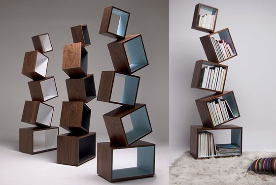 Most Popular 12 Playful And Unusual Bookcases – Design Swan Inside Unique Bookcases (View 5 of 15)