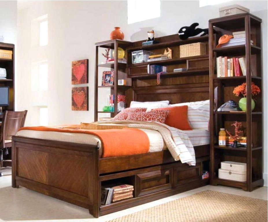 Featured Photo of Bed Frame Bookcases