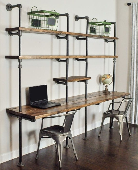 Most Popular Best 25+ Desk With Shelves Ideas On Pinterest (View 10 of 15)