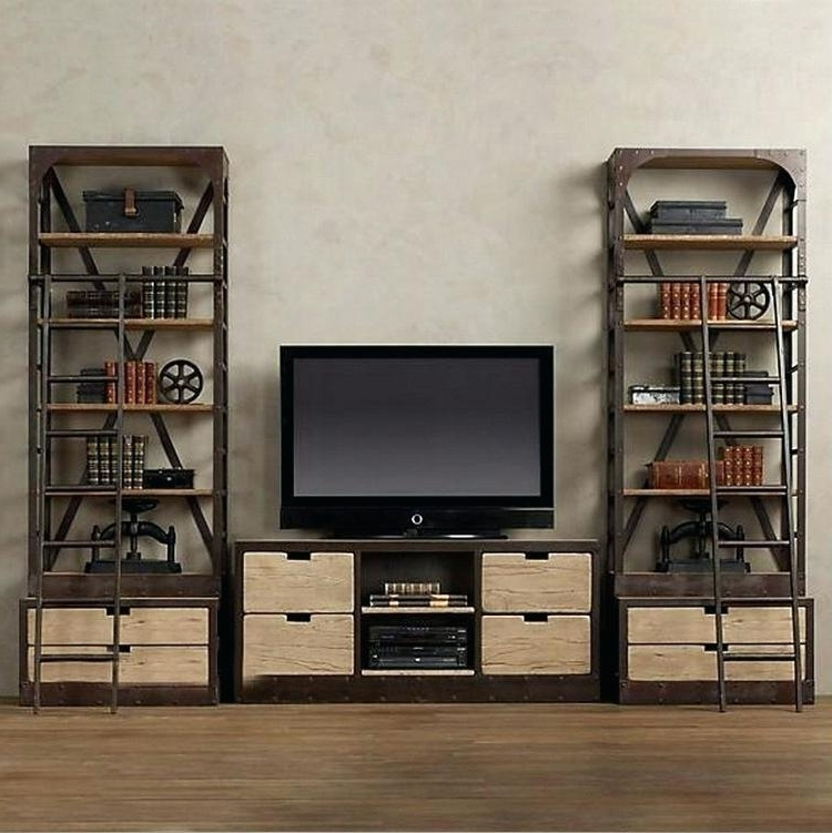 Most Popular Bookcases Tv Stand Throughout Tv Stand With Matching Bookcases Bookcase Tv Stand With Matching (View 4 of 15)