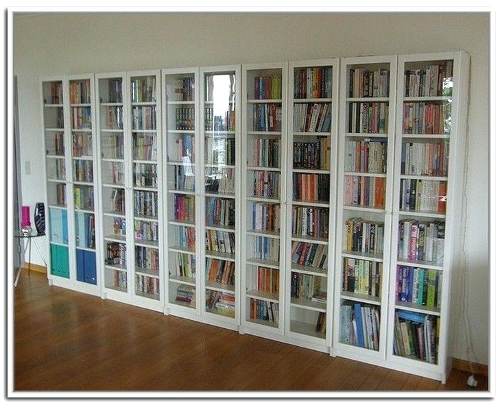 Most Popular Bookcases With Glass Doors With Bookshelf With Doors New Tall Bookcase Glass Doors Drawers (View 10 of 15)