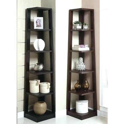 Most Popular Espresso Target Bookcases Intended For Espresso Corner Shelves Bookcases Corner Units Corner Shelves (View 9 of 15)
