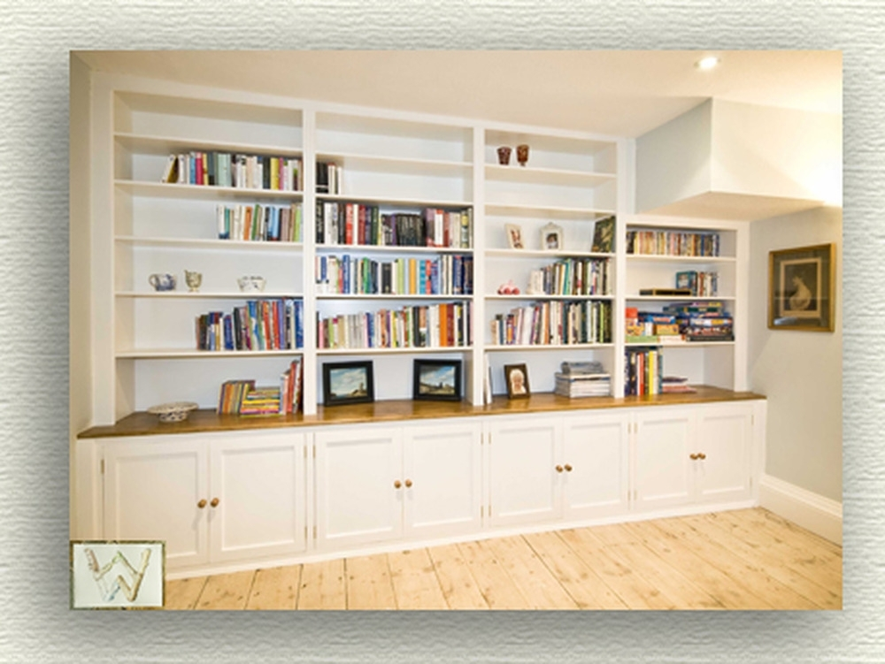 Most Popular Fitted Shelving Throughout Fitted Bookshelves – Carpentry & Joinery Job In Aylesbury (View 4 of 15)