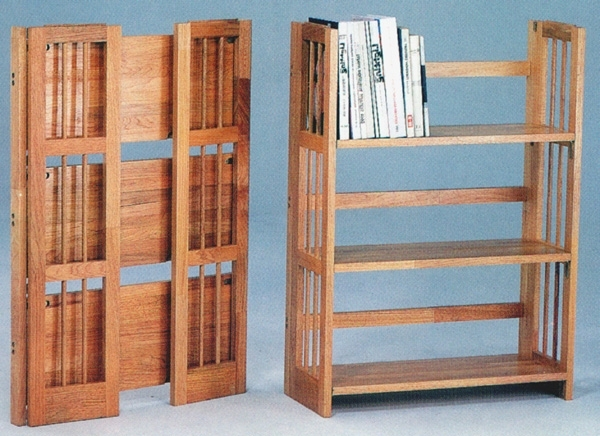 Most Popular Folding Bookcases Throughout Bookshelf (View 12 of 15)