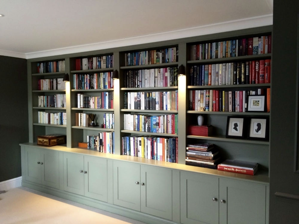 Most Popular Handmade Bookcases In The Bookcase Co Specialises In Bespoke Bookcases, Alcove Units And (View 14 of 15)