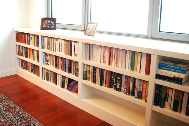 Most Popular Long Bookcases With Regard To Short Long Bookcase Build Your Own Office Wide Bookcase Base Short (View 7 of 15)
