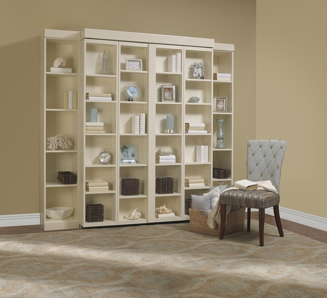 Most Popular Madison Bifold Bookcase Bed – Contemporary – Bedroom – Dallas – In Bookcases Bed (View 14 of 15)