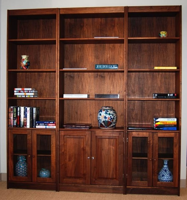 Most Popular Real Wood Bookcases Pertaining To Handmade American Fine Wood Bookcases (View 4 of 15)