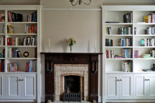 Most Popular Study Bookshelves Within Fitted Bookcases & Bookshelves Case Study 3 – Bookcase Company (View 5 of 15)
