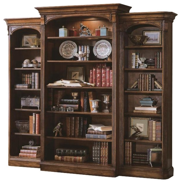 Most Popular Traditional Bookcases Pertaining To Hooker Furniture Brookhaven Bookcase – Traditional – Bookcases (View 4 of 15)