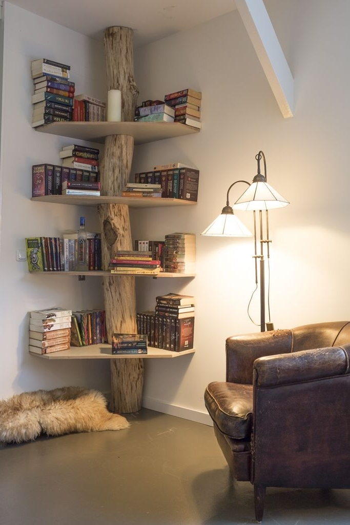 Most Popular Tree Bookcases Intended For Pinиван Крузенштерн On Сделай Сам (View 6 of 15)