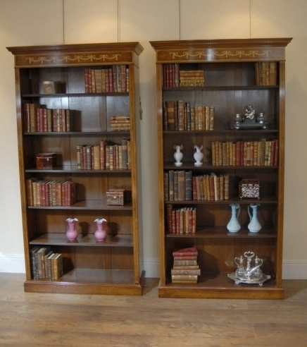 Featured Photo of Walnut Bookcases