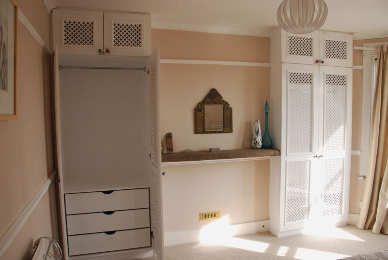Most Recent Alcove Wardrobes Designs Pertaining To Bespoke Alcove Wardrobes – Wood Works Brighton (View 11 of 15)