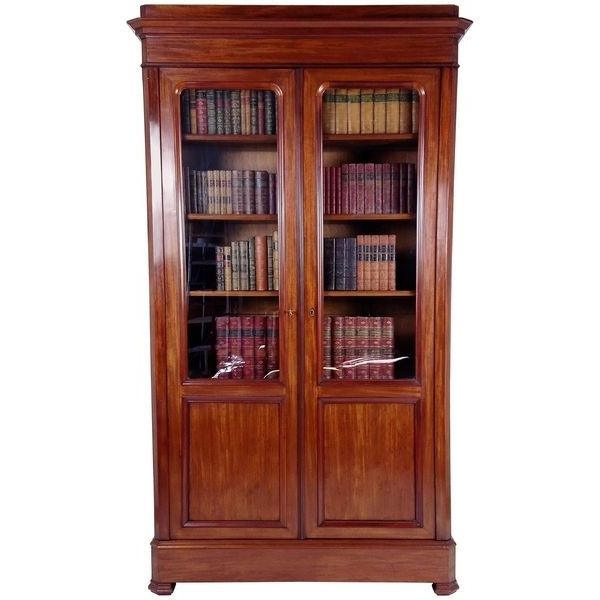 Most Recent Antique Library Bookcases – The Uk's Premier Antiques Portal Within Flat Pack Bookcases (View 10 of 15)
