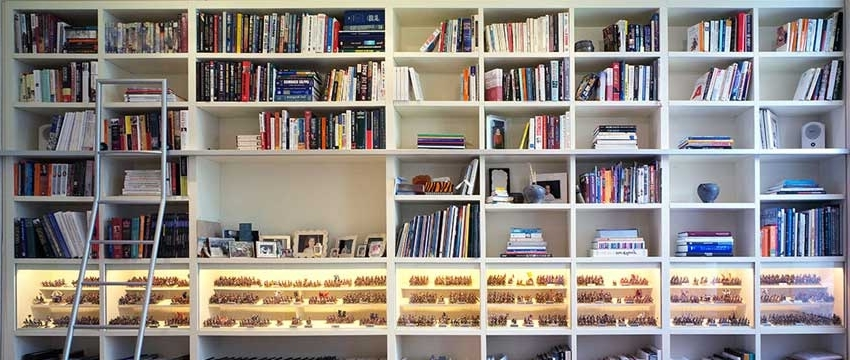 Most Recent Bespoke Bookshelves Regarding Custom Cabinets Surrey (View 9 of 15)