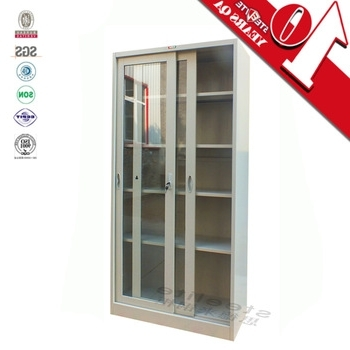 Most Recent Bookcase With Glass Doors Model Sliding Glass Door Filing Cabinet With Regard To Lockable Bookcases (View 10 of 15)