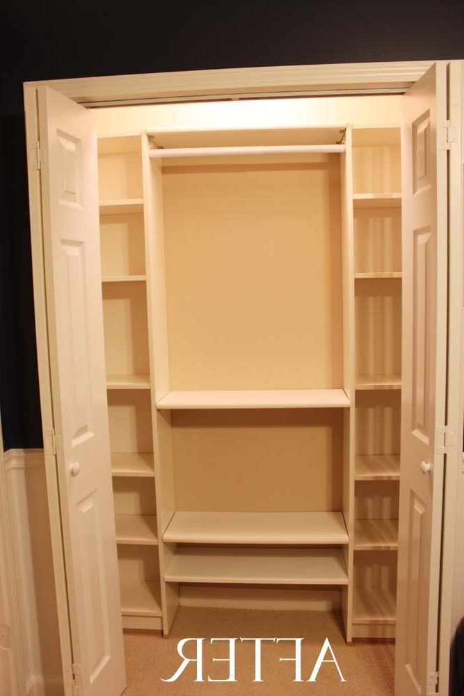 Most Recent Bookcases Cupboard For Add 2 Ikea Billy Bookcases And Rods Have A Diy Closet, Sweet (View 15 of 15)