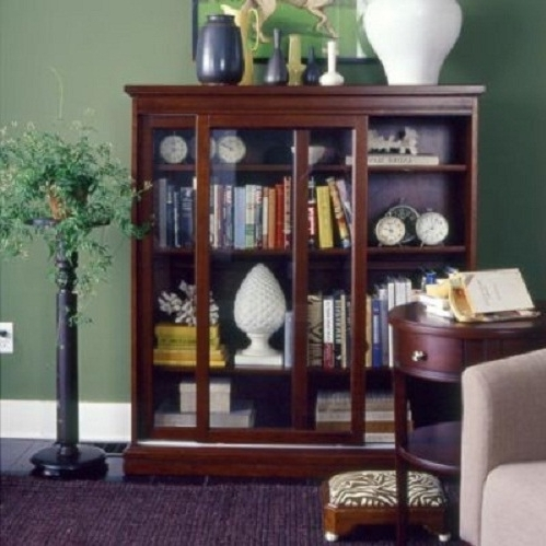 Most Recent Bookcases With Sliding Glass Doors Pertaining To Sliding Glass Door Bookcase For Living Room (View 12 of 15)