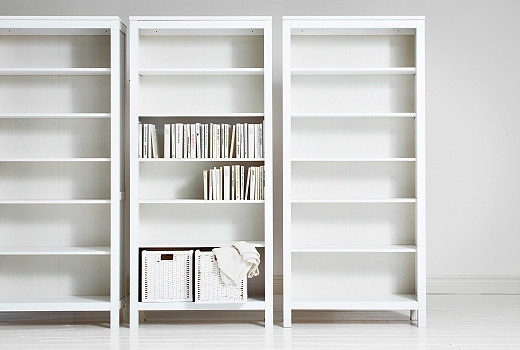 Most Recent Cheap Bookcases Throughout Furniture : Modern White Ika Bookcase Designs The Most Influence (View 12 of 15)