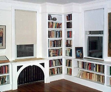 Most Recent Custom & Built In Under The Window Storage, Bookshelves & Cabinets For Radiator Covers And Bookcases (View 8 of 15)