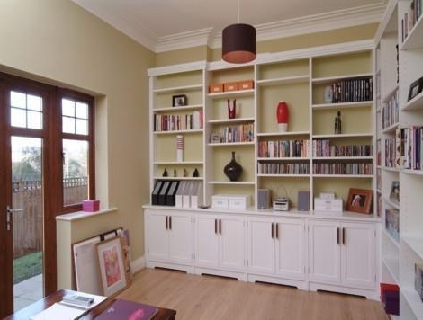 Most Recent Fitted Shelving With Regard To Welcome To The Hungerford Bookcase Company (Gallery 5 of 15)