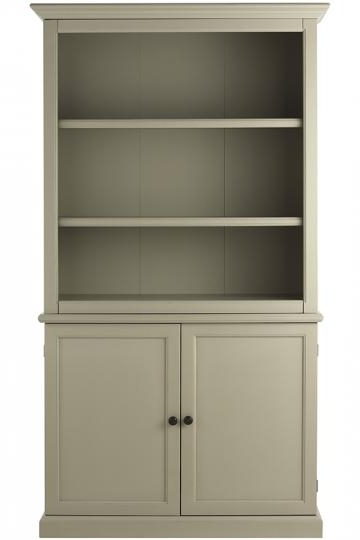 Most Recent Martha Stewart Living™ Ingrid Bookcase With Doors – Bookcase Within Bookcases With Cupboard (View 9 of 15)