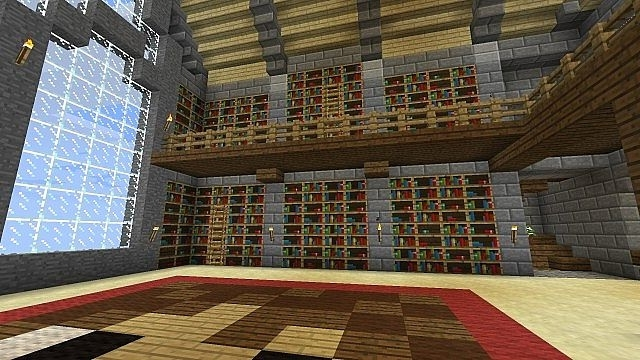 Most Recent Minecraft Bookcases Pertaining To Bookshelf Mod Minecraft Mod (View 11 of 15)