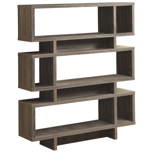 "Most Recent Monarch Bookcases In Monarch 55"" Modern Bookcase (I 3251) – Dark : Bookcases – Best Buy (View 9 of 15)"