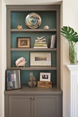 Most Recent Painted Shelving Units Regarding Best 25+ Painted Bookcases Ideas On Pinterest (View 5 of 15)