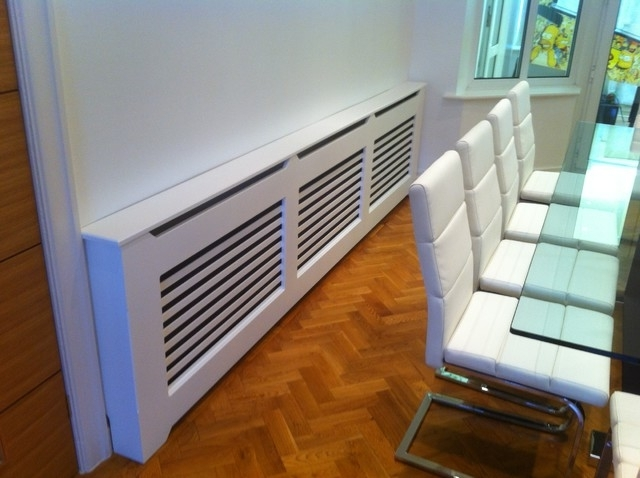 Most Recent Radiator Cover Tv Stand Pertaining To Radiator Covers – Contemporary – Dining Room – Manchester – (View 10 of 15)