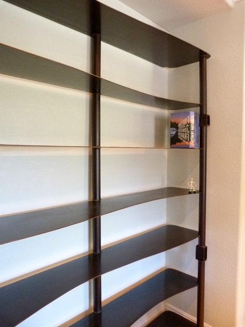 Most Recent Shop Shallow Bookcase Products On Houzz Shallow Bookshelves (View 7 of 15)