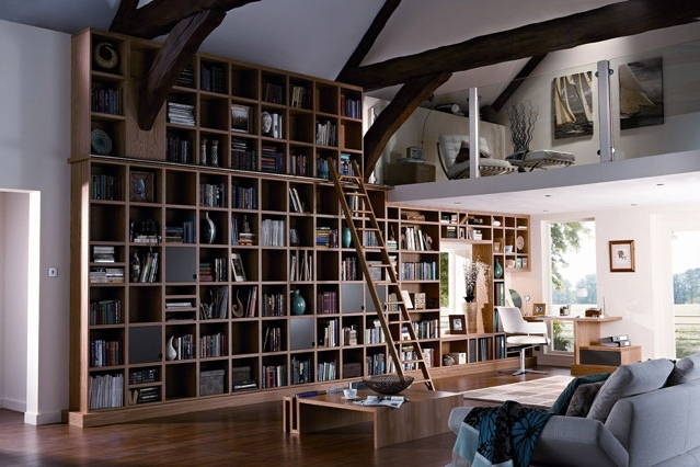 Featured Photo of Wall Bookcases