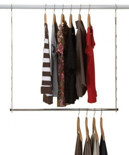 Most Recent Wardrobe Double Hanging Rail Within Howards Storage World (View 5 of 15)