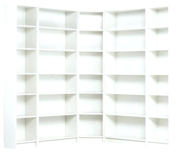 Most Recent White Corner Bookcase Billy Bookcase White Billy Corner Throughout White Corner Bookcases (View 6 of 15)