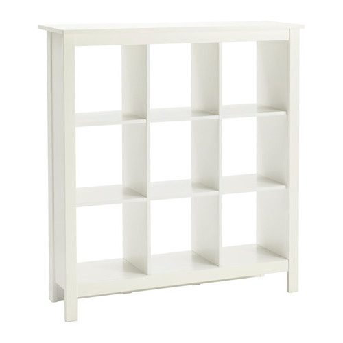 Most Recent White Shelving Units In Tomnäs Shelving Unit White 116X127 Cm – Ikea (View 8 of 15)