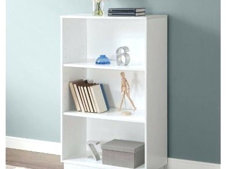 Most Recently Released 3 Shelf Bookcase White 3 Shelf Bookcase White Target Sauder Regarding Sauder Beginnings 3 Shelf Bookcases (View 4 of 15)