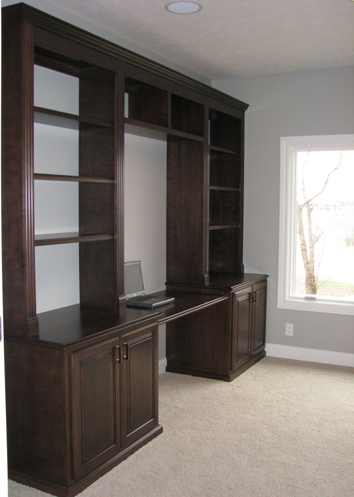 Most Recently Released Bookcases And Displays « Ebben Custom Cabinets & Furniture Throughout Desk With Bookcases (View 7 of 15)