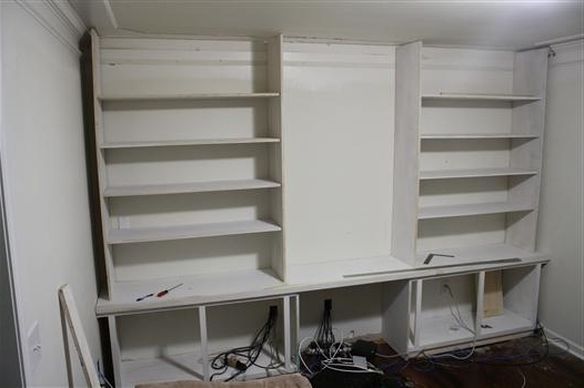 Most Recently Released Building A Built In Bookshelf Wall With Build Bookcases Wall (View 6 of 15)