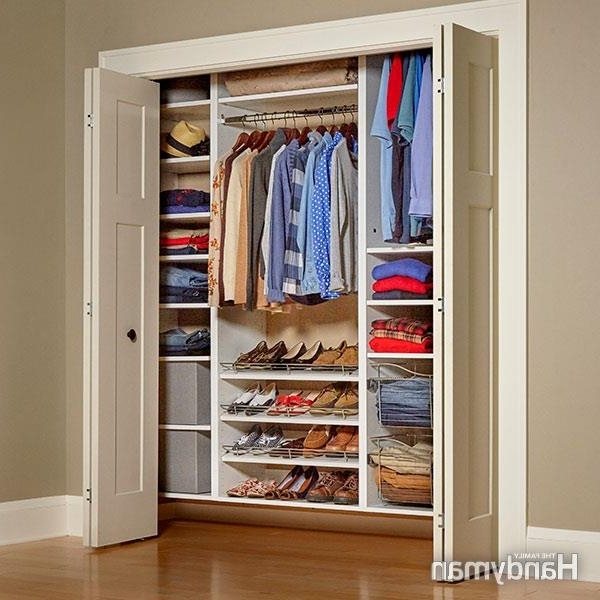 Most Recently Released Built In Cupboard Shelving Regarding Build Your Own Melamine Closet Organizer (View 9 of 15)