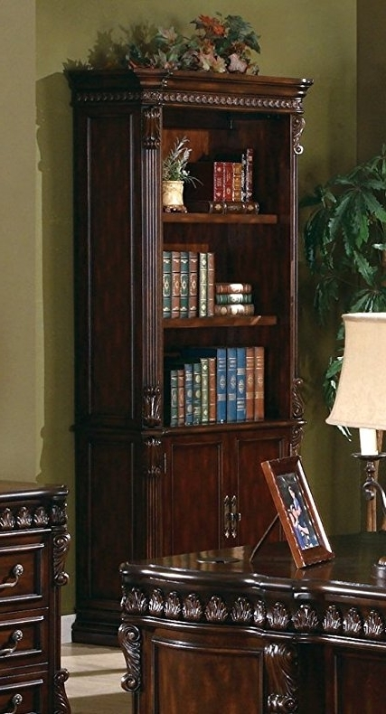 Most Recently Released Coaster Bookcases Inside Amazon: Coaster Union Hill Bookcase In Rich Brown Finish (View 14 of 15)