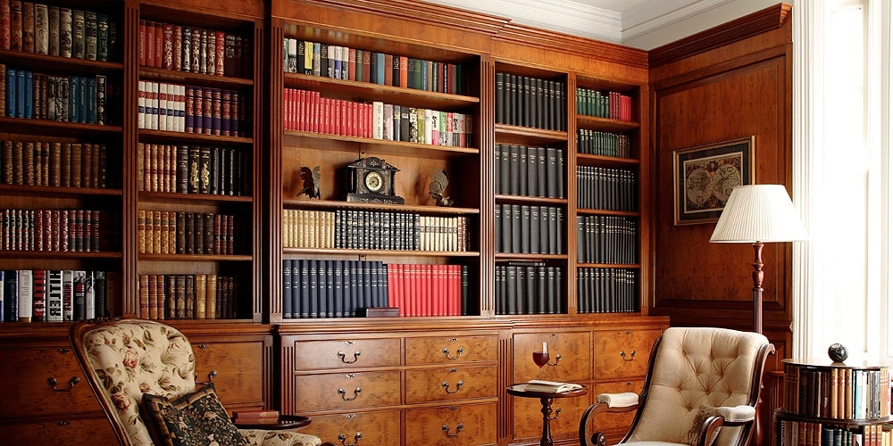 Most Recently Released Fitted Study And Bookcases (View 5 of 15)
