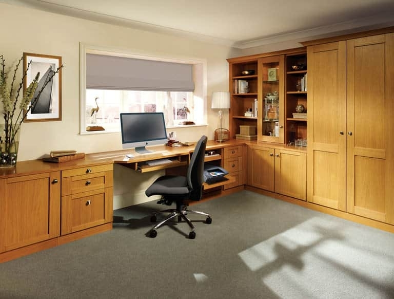 Most Recently Released Fitted Study Furniture Pertaining To Fitted Home Office Furniture (View 10 of 15)